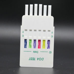 1-12 Panel Urine Drug Test DIP Card Ce ISO Appeovd pictures & photos