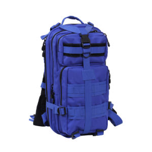 Military Tactical Double Shoulder Waterproof Backpack in Medium Size (HY-B011) pictures & photos