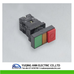 220V Xb2-Ew8345 with LED Indicator Light Push Button Switch pictures & photos
