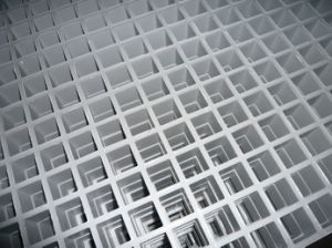 Fiberglass Molded Grating/ FRP/GRP Grey Grating pictures & photos