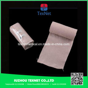 Sugical Elastic Crepe Bandage with Blue Lines From China, 100% Cotton pictures & photos