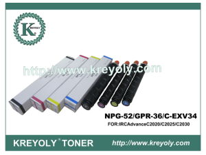 High Quality Compatibility Color Toner Cartridge NPG-52/GPR-36/C-EXV34 pictures & photos