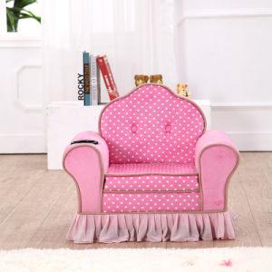Custom Princess Velvet Lounge Sofa pictures & photos