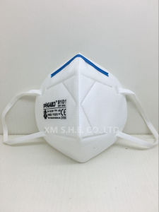 Protective Filtered Ffp1 Folded Respirator Mask pictures & photos