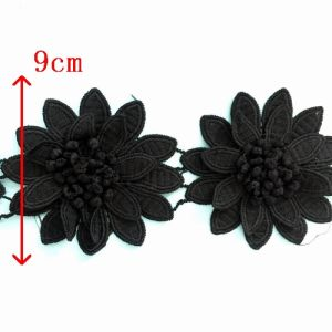 Craftship Popular Flower Style Embroidery Lace pictures & photos