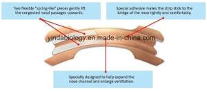 Yinda Medical OEM Japan Technology Top Quality Anti-Snoring Nasal Strip pictures & photos