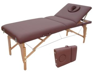 Deluxe Portable Massage Table with Adjustable Backrest, Beauty Table or Massage Table pictures & photos