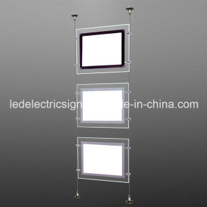 LED Light Box with Acrylic Sign with Hanging Ceiling Board pictures & photos