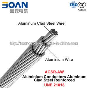 ACSR/Aw, Aluminium Conductors Aluminium Clad Steel Reinforced (UNE 21018) pictures & photos