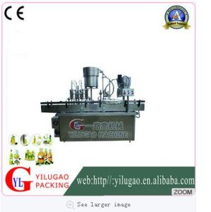 Ylg-Gz1005cy Fully Automatic 4-Head Liquid Filling and Sealing Machine pictures & photos
