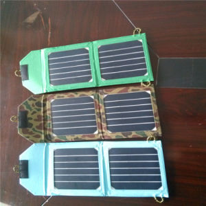 6W Sunpower Solar Foldable Mobile Charger Bag for iPad Electric Book pictures & photos