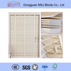 50mm Faux Wood Venetian Blinds with Water-Resistant Function pictures & photos
