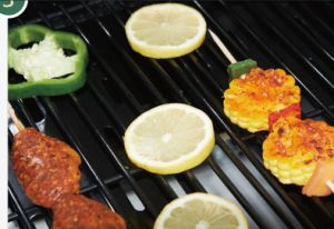 Perfect Smart Outdoor Barbecue Gas Grill BBQ for Garden pictures & photos