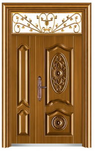 Iraq and Iran Model Steel Door safety and Exterior Door (AT-359) pictures & photos
