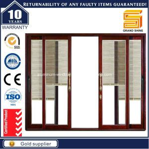 Grandshine Aluminium Sliding Door with Built-in Binds (SD7150) pictures & photos