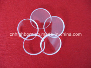 Round Shape Clear Quartz Glass Plate pictures & photos