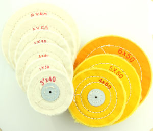 Hot Sell 3′/4′/5′/6′ Lnch Cotton Rough Dental Cloth Wheel pictures & photos