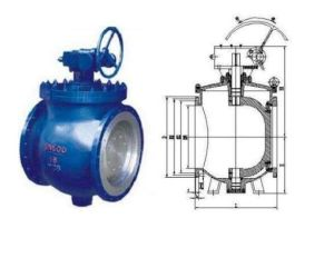 Dyq Top Mounted Eccentric Hemisphere Spherical Ball Valve pictures & photos
