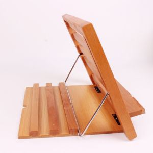 Hot Selling Hands Free Height Adjustable Wooden Reading Rest Holder pictures & photos