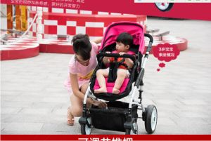 2016 Leyou New High Landscape and Foldable 3-in-1 Baby Stroller pictures & photos
