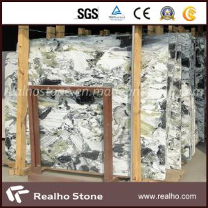 White Blue Marble Ice Jade Marble for Countertop pictures & photos