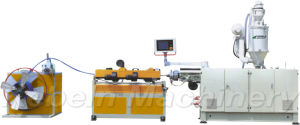 Plastic Single-Wall Corrugated Pipe Extrusion Line pictures & photos