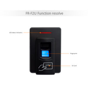 F2u Multi-Function Wiegand Output Biometric Fingerprint Reader Device with RFID Card and USB+RS485 Communication pictures & photos