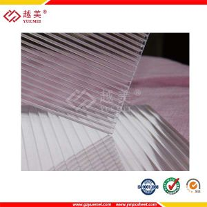 ISO 9001: 2015 Proved Transparent Polycarbonate Hollow Sheet pictures & photos