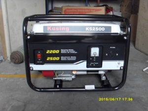 2500 Watt Portable Gasoline/Petrol Generator-1 Year Warranty-Original Packing pictures & photos