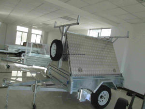 8X5 Fully Weld Box Trailer / Strong Cage Trailer/Tipping Box Trailer/Utility Car Trailer pictures & photos