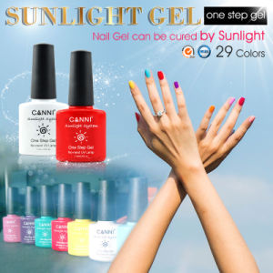 #51263W Canni Nail Art Gel New 2016 29 Color No Need Base Coat Top Coat UV/LED Lamp Sunlight Gel Polish Soak off One Step Gel Nail Polish