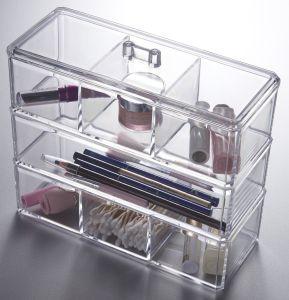 Acrylic Cosmetic Organizer Makeup Drawers Orgaization Lipstick Stand