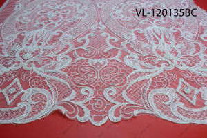 Factory Wholesale Lace Fabric Low Price Wedding Vl-120135-Bc pictures & photos