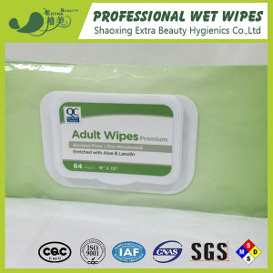 Alcohol Free Adult Wipes 64PCS pictures & photos