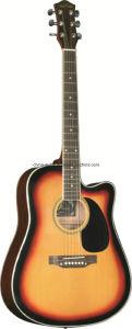 41′′ Hot Sale Sapele Acoustic Guitar pictures & photos