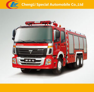 Foton 6*4 Fire-Fighting Trucks for Sale pictures & photos