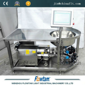 PLC Control Stainless Steel Powder Table Blender with Wheels pictures & photos
