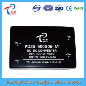 1000V Input 24VDC Output PV Power Supply for PCB Mount Pd-M Series