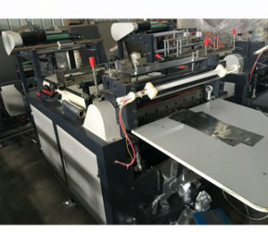 Aluminum Foil Roll to Sheets Cross Cutting Machine pictures & photos