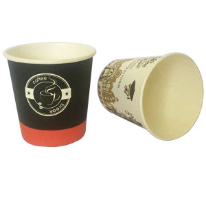 Chinese Factory Direct Sales Customed Disposable Paper Cups for Coffee Drink pictures & photos