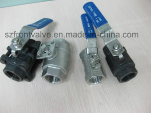 Investment Casting Stainless Steel 3PC Bw Ball Valve pictures & photos