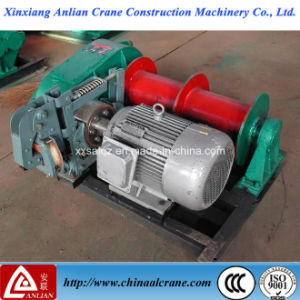 1t Capacity Electric Wire Rope Pulling Winch pictures & photos