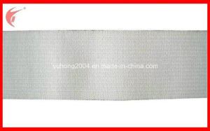 White Knitted Elastic Ribbon for Clothing (YH-ET016) pictures & photos