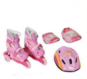 Adjustable Inline Skate with Hot Selling (YV-T01) pictures & photos