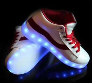 LED Shoes, Shine Flat Shoes(JP-04R) pictures & photos