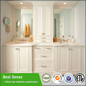 2015 America New Design Classic Solid Wood Antique Bathroom Cabinet pictures & photos