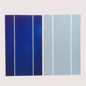 17%-18% Transfer Efficiancy Polycrystaline Solar Cells 156*125