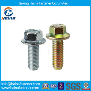 JIS 10.9 Thread Hex Flange Metric Bolt pictures & photos