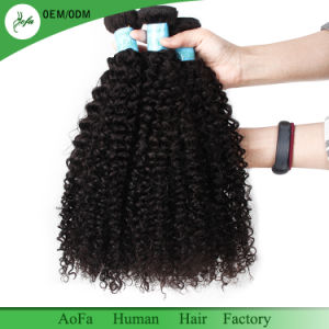7A Grade Top Quality Virgin Hair Remy Human Hair Extension pictures & photos