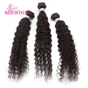 Deep Wave Remy Hair Weft Virgin Human Hair Extension pictures & photos